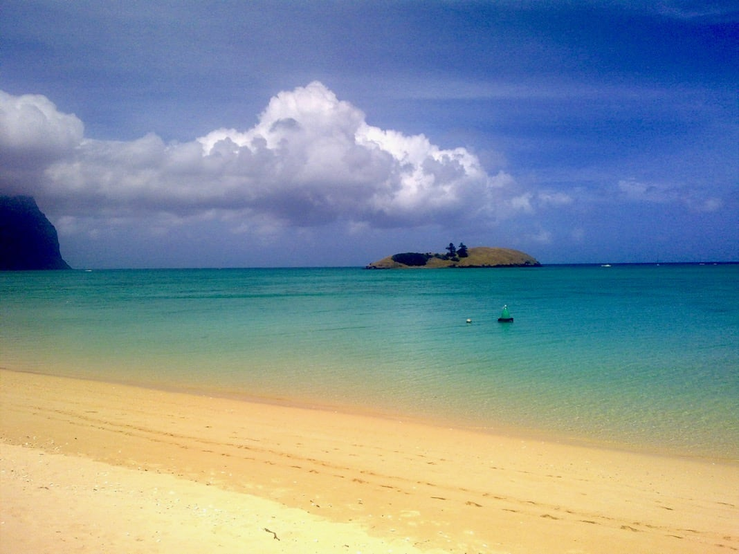 Best beaches in Australia Lord Howe Island Lagoon beach
