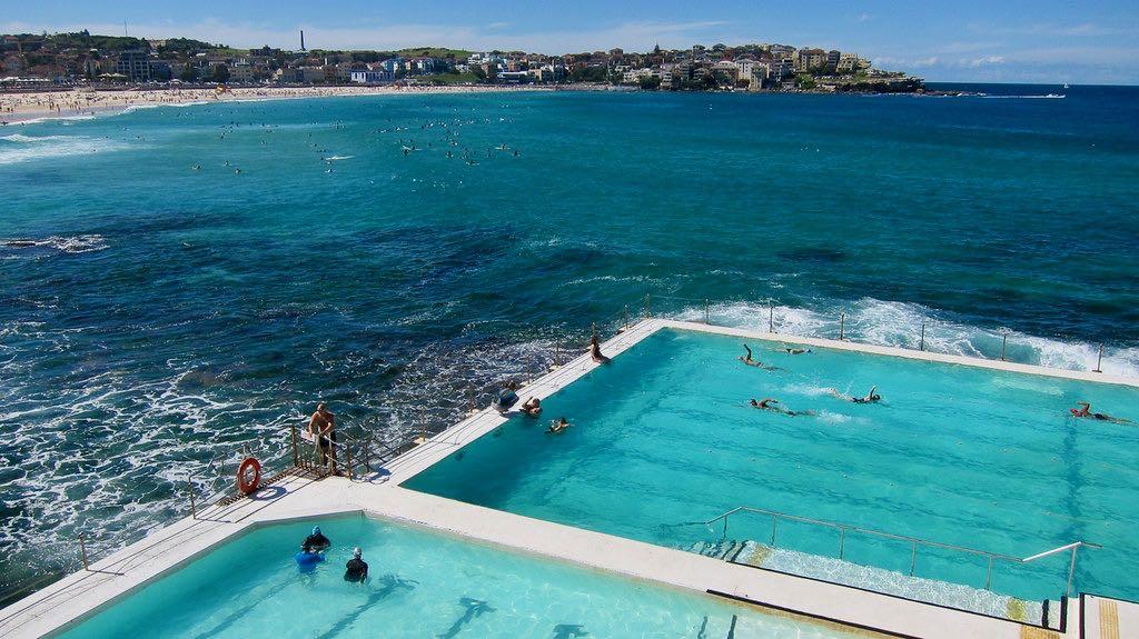 Pool at Sydney's Bondi Beach