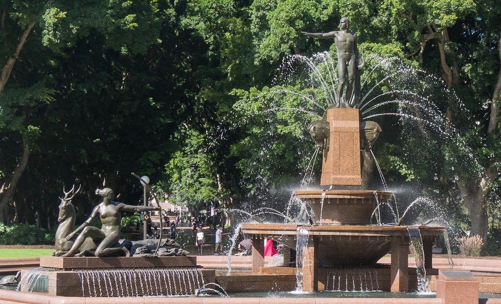 Archibald Fountain at Hyde Park Apollo Diana
