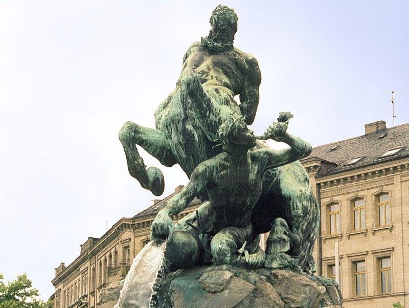 Centaur Fountain
