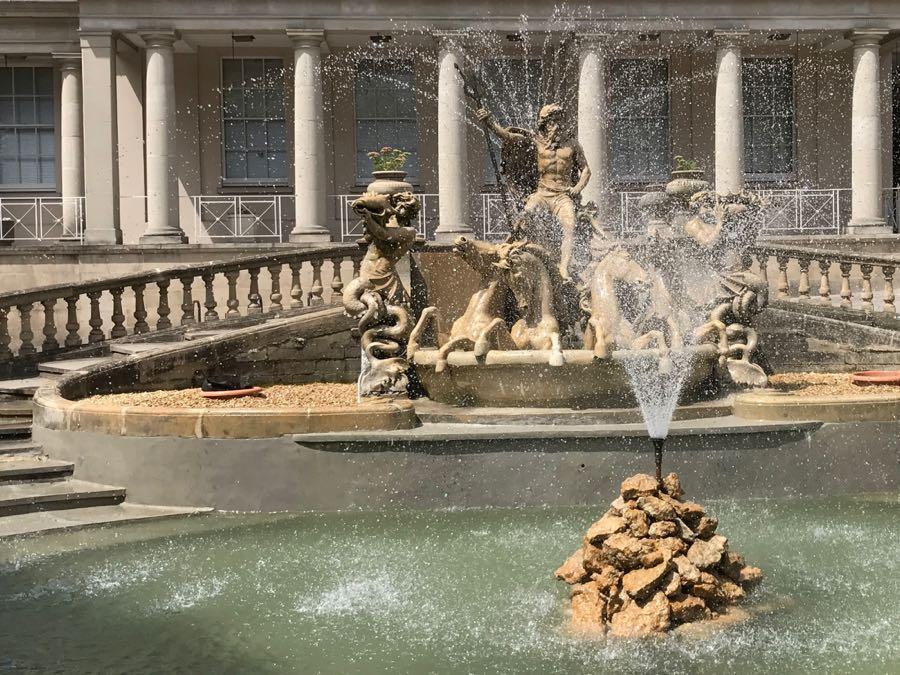 Cheltenham neptune fountain
