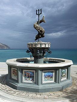 Fountain of Poseidon Greece