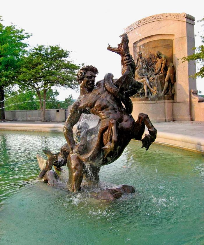 Fountain of the Centaurs America