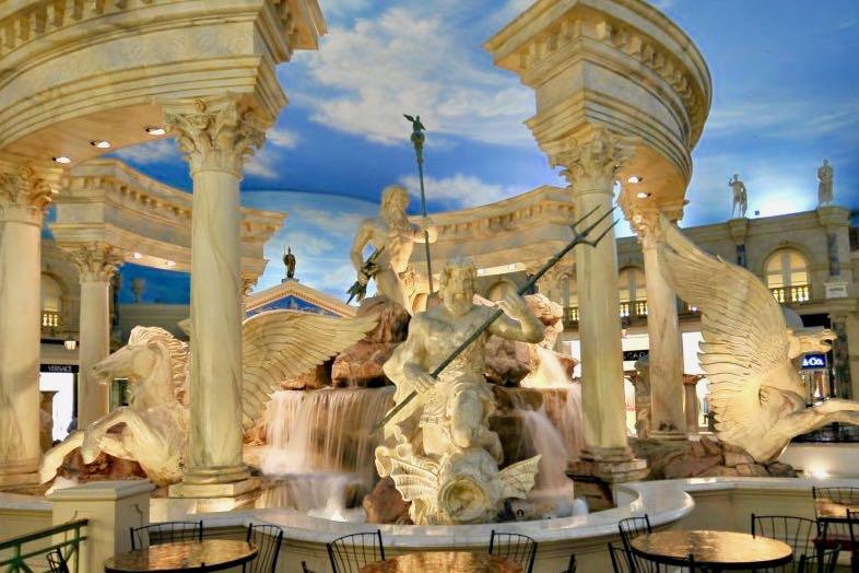 Fountain of the Gods Caesars Palace Las Vegas