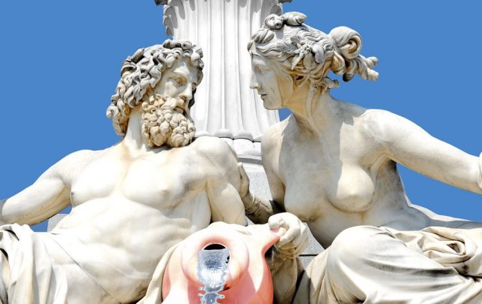 Greek Mythology Water Fountains Classical
