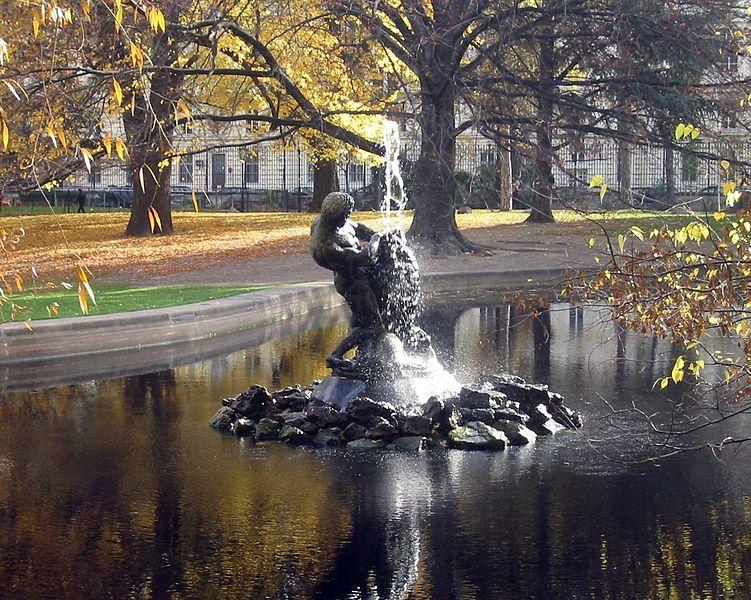 Hercules Fountain Burggarten Vienna