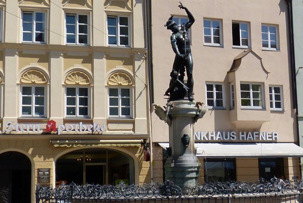 Mercury Fountain Augsburg