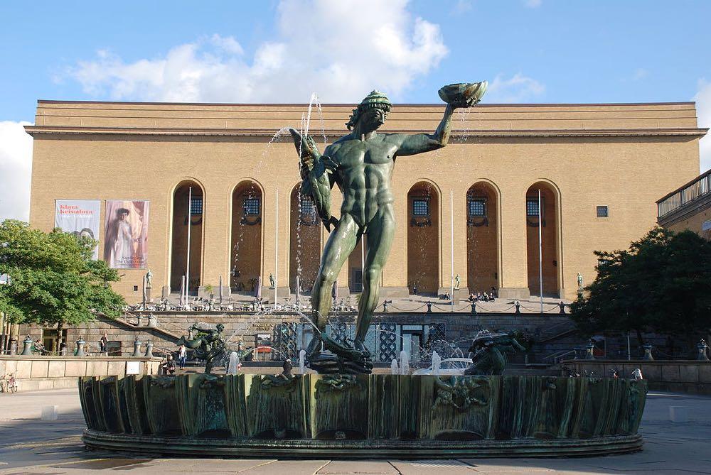 Poseidon Fountain Sweden