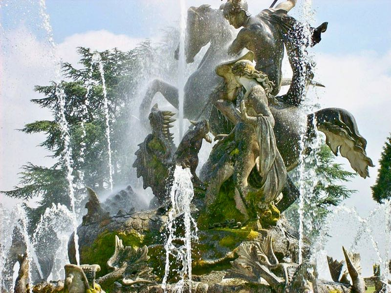 The Perseus Fountain Witley Court