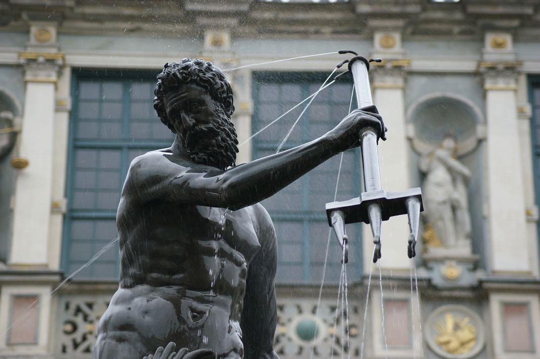 Water fountains Greek Mythology