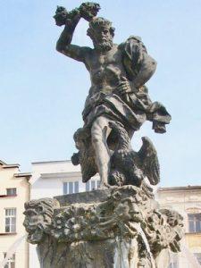 Zeus Jupiter Fountain