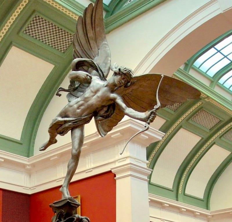 Anteros sculpture Greek Mythology Australia