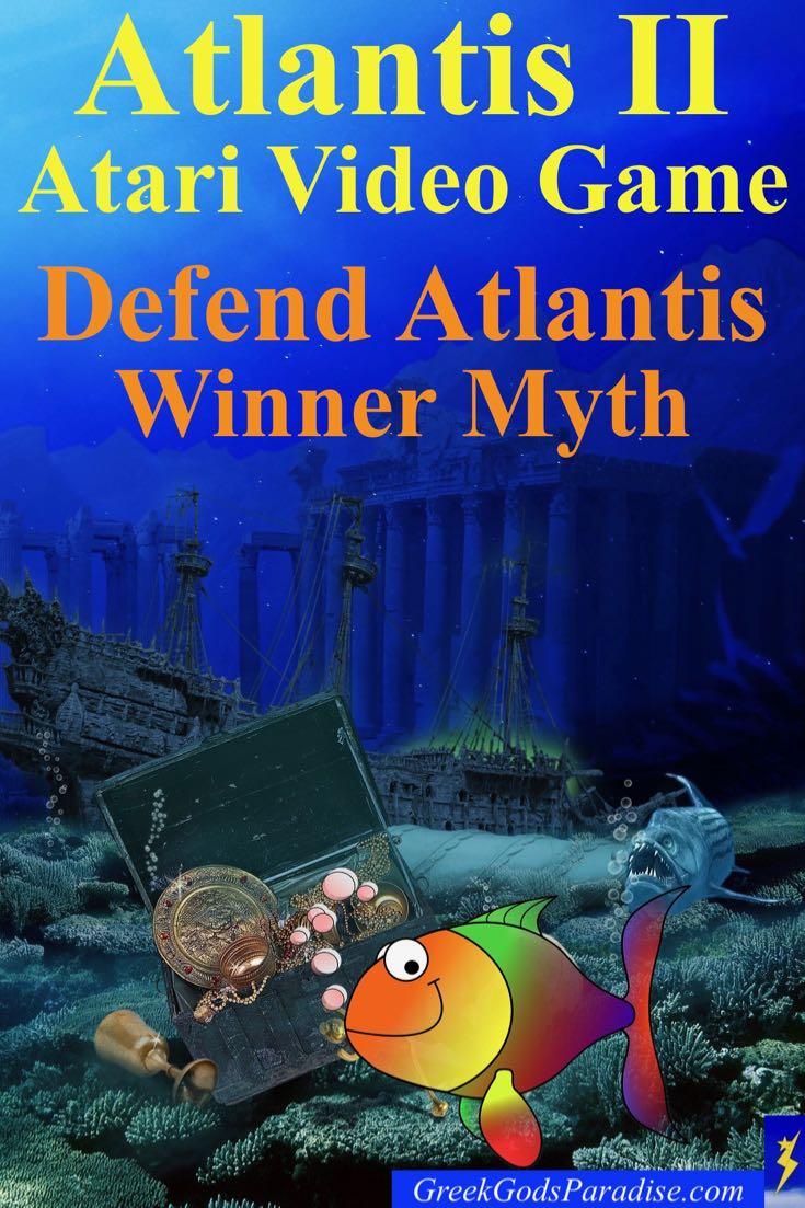 Atlantis 2 Atari Defend Atlantis Myth