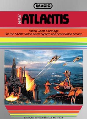Atlantis Atari Video Game