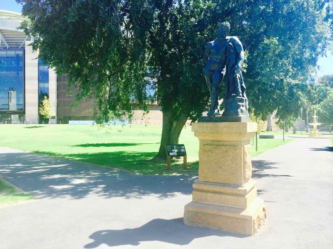 Farness Hercules Sculpture Adelaide Australia