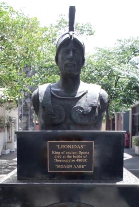 King Leonidas Statue