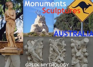 Monuments Sculptures Australia Greek Mythology