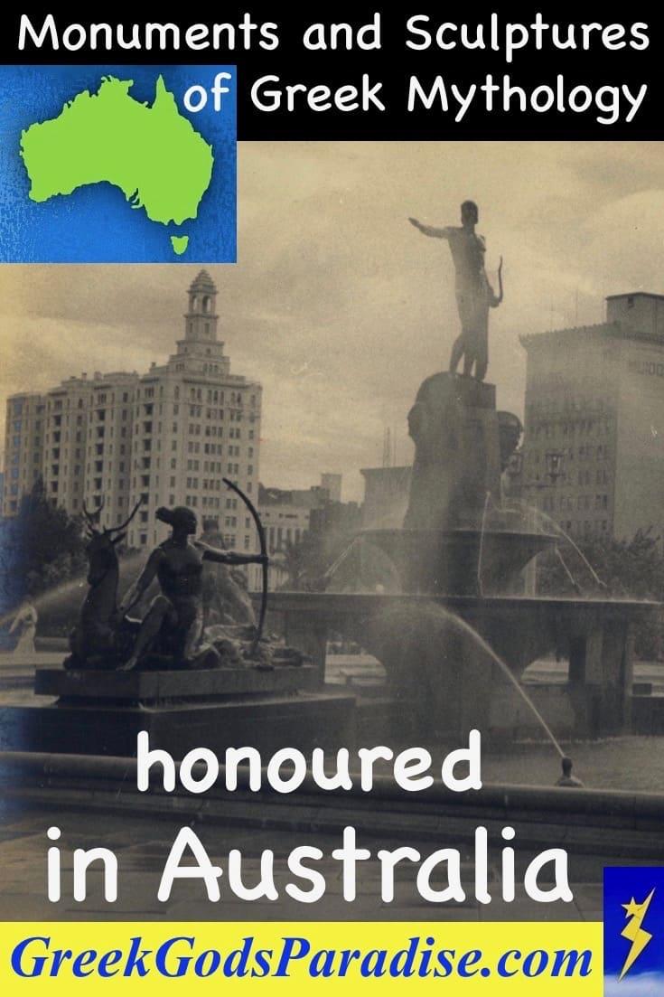Monuments sculptures honoured in Australia Apollo Sydney