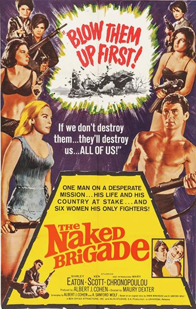 Movies filmed in Crete Greece The Naked Brigade