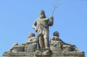 Neptune Statue Newcastle Australia