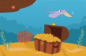 Prize for Defend Atlantis Gold Treasure