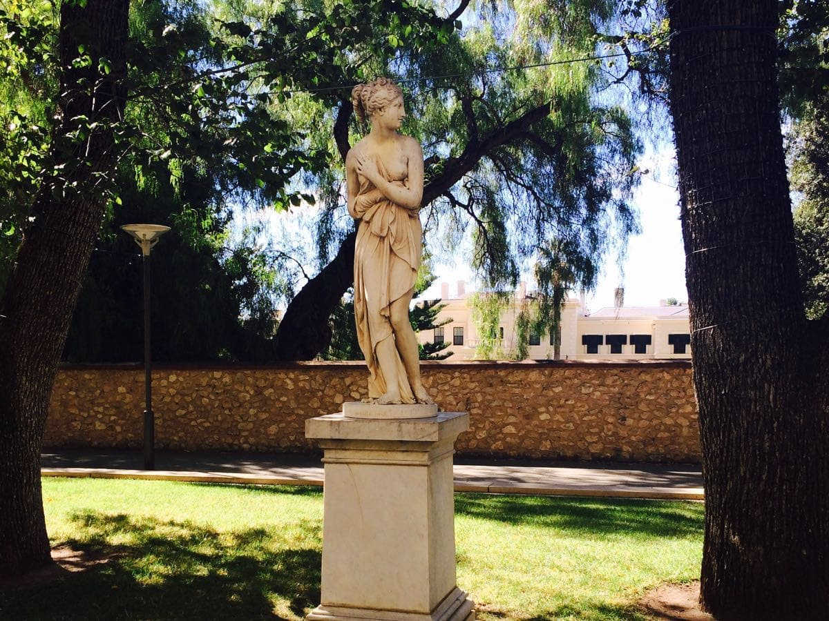Sculptures Australia Greek Mythology Venus