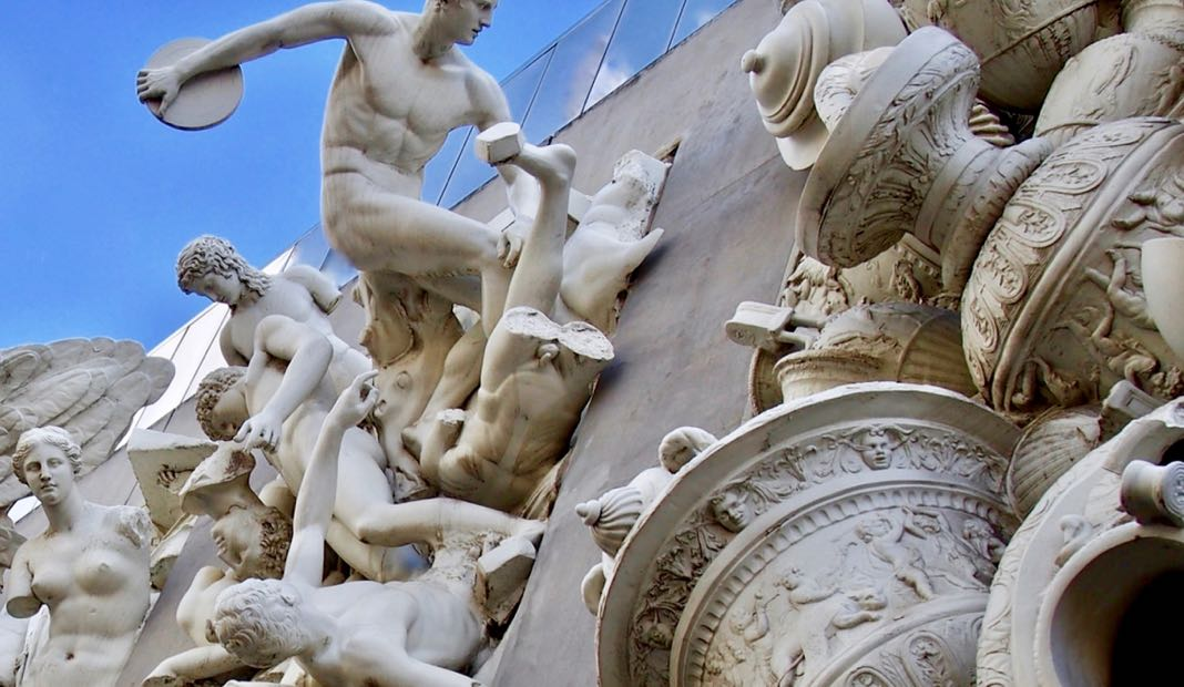 Sculptures Greek influence Australia Cultural Rubble