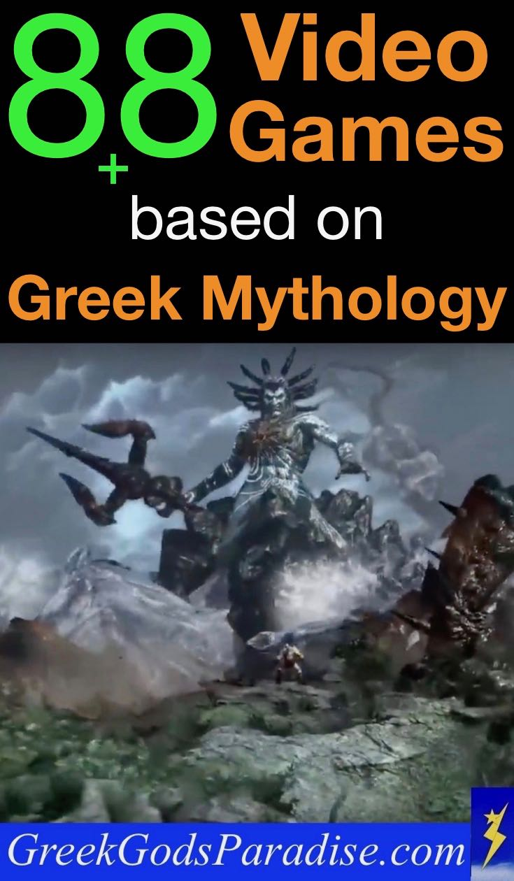 88 Video Games based on Greek Mythology | Greek Gods Paradise