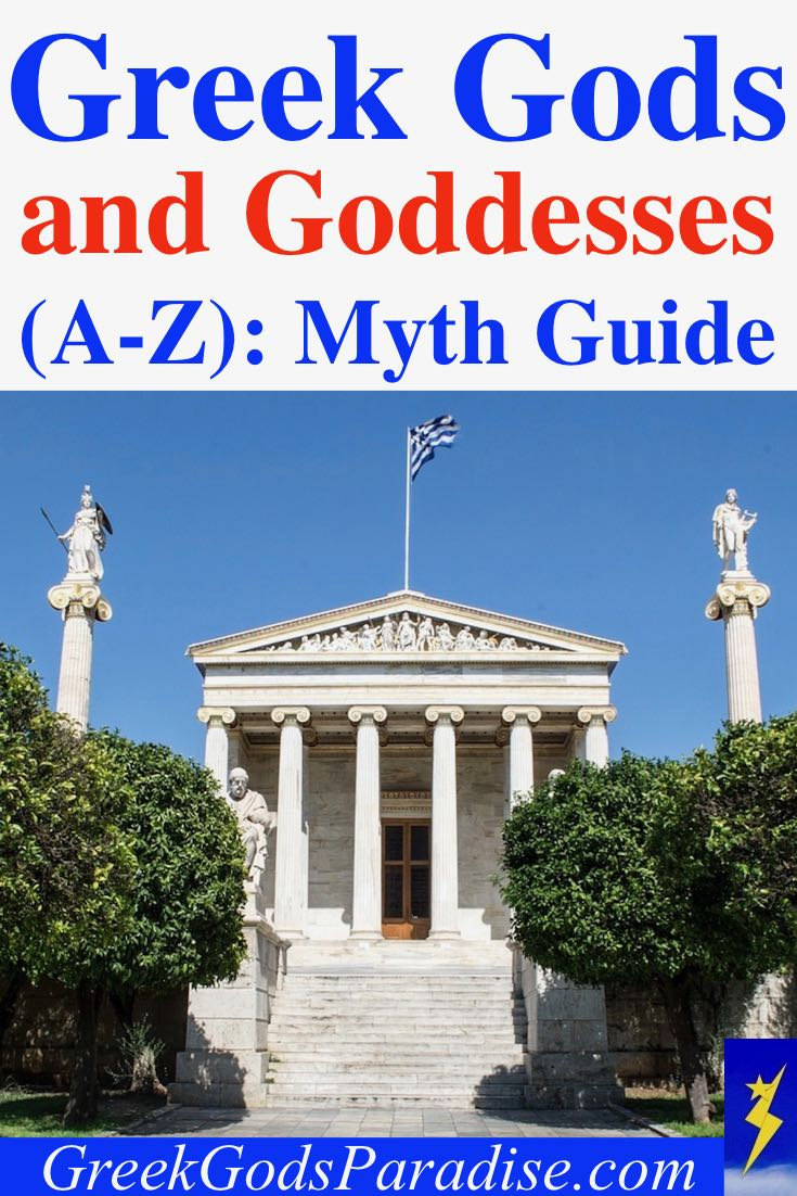 Greek Gods and Goddesses A to Z Myth Guide