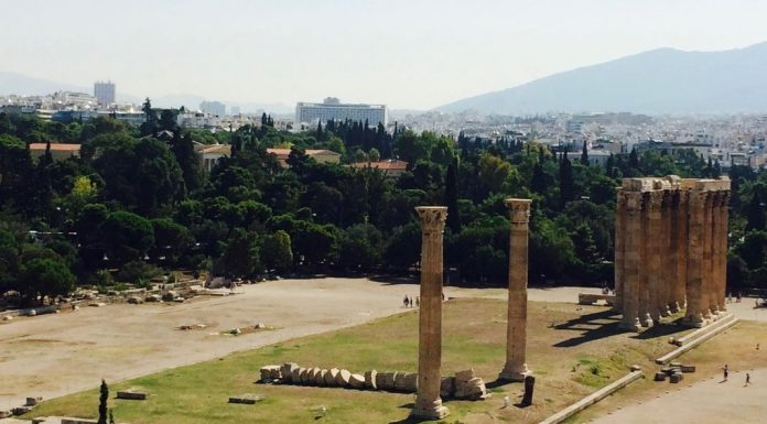 Hikes in Greece starting at Temple of Olympian Zeus