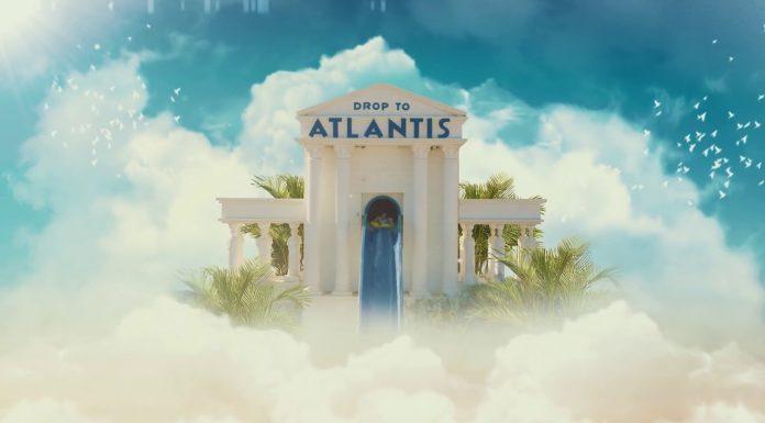 Drop to Atlantis Waterpark