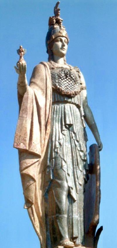 Athena Nike Statue Spain