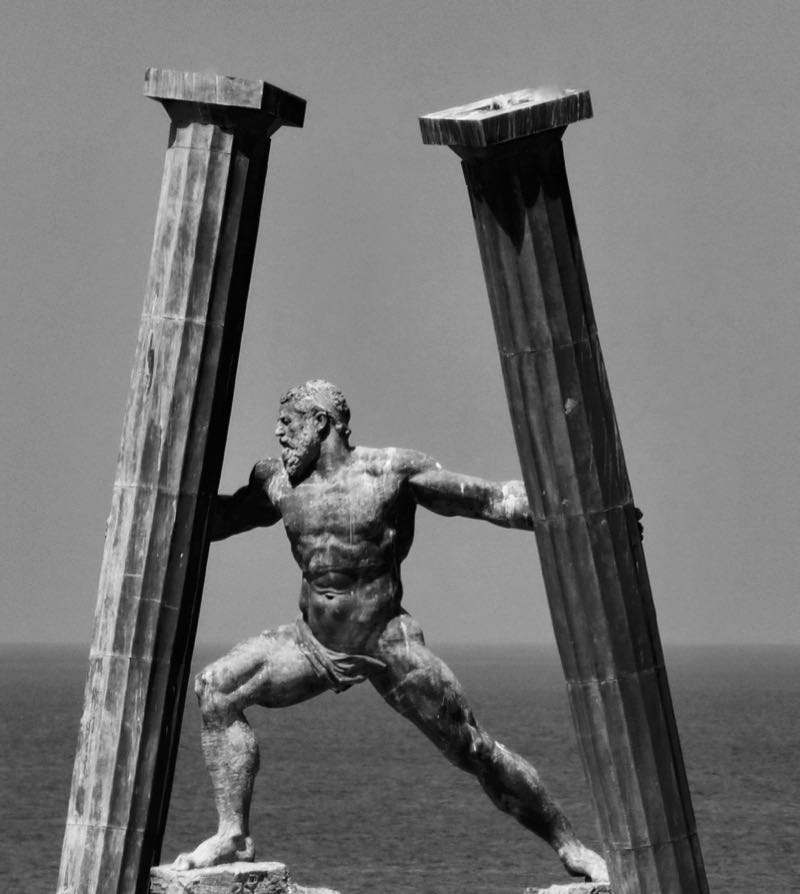 Hercules Statue Spain