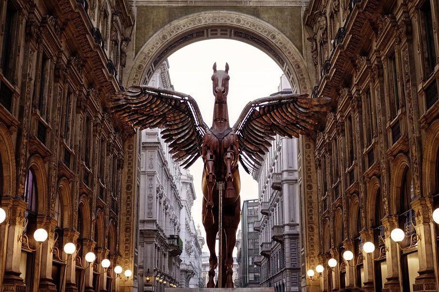 Pegasus Statue Milan