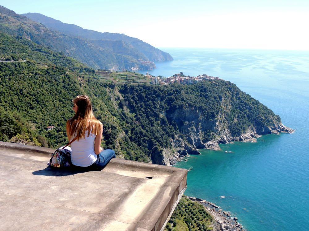 Beautiful view of Corniglia Cinque Terre