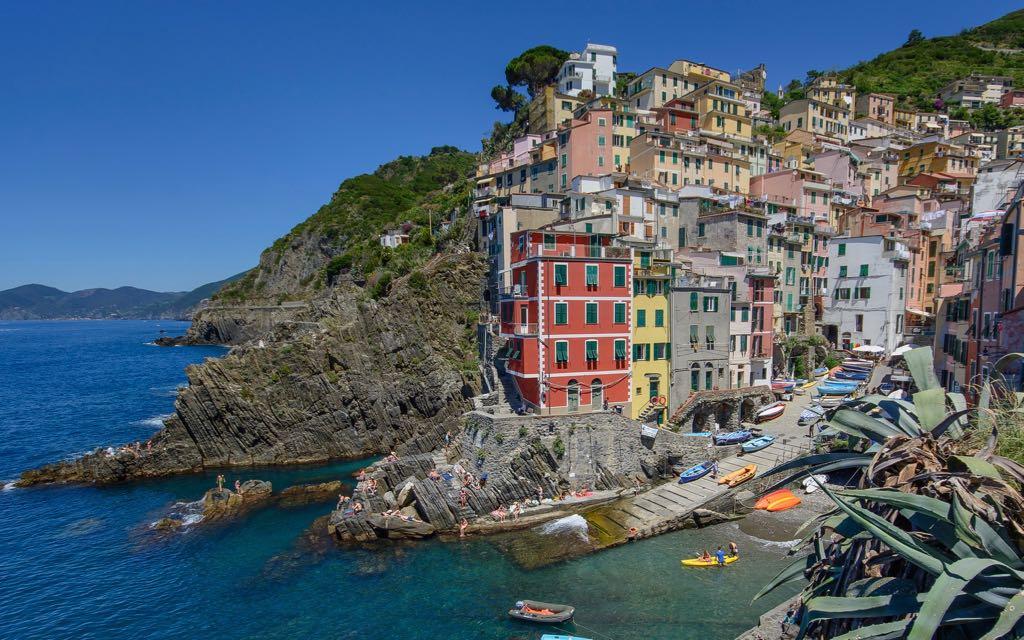 Best Cinque Terre Town Riomaggiore Italy