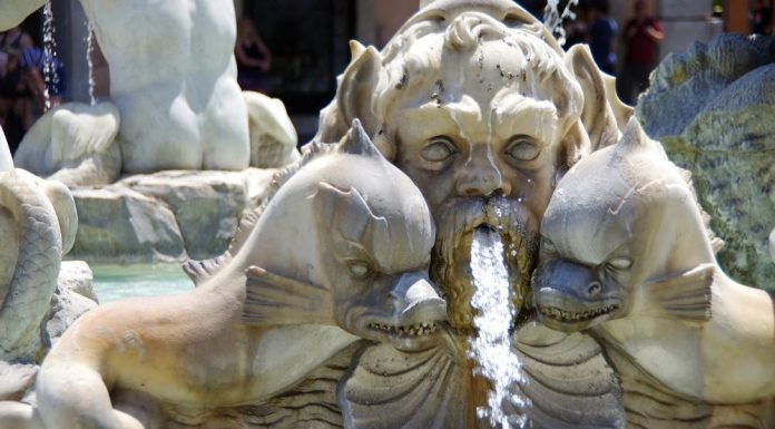 Best Fountains in Italy Neptune Nettuno