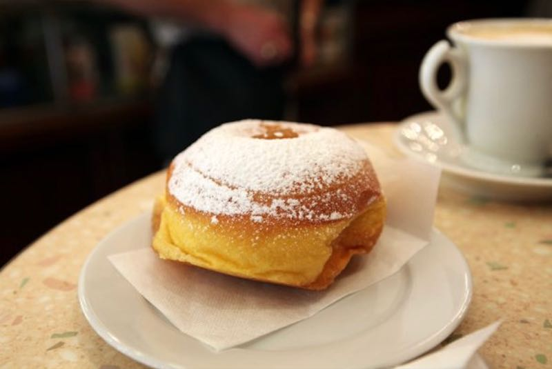 Best Italian Desserts in Italy Doughnut Bomboloni