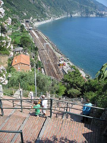 Cinque Terre Corniglia Staircase