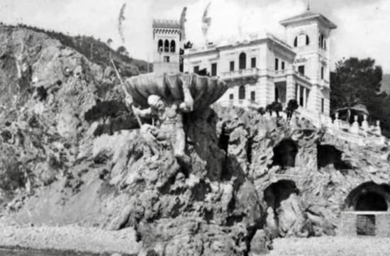 Old Neptune Statue Cinque Terre