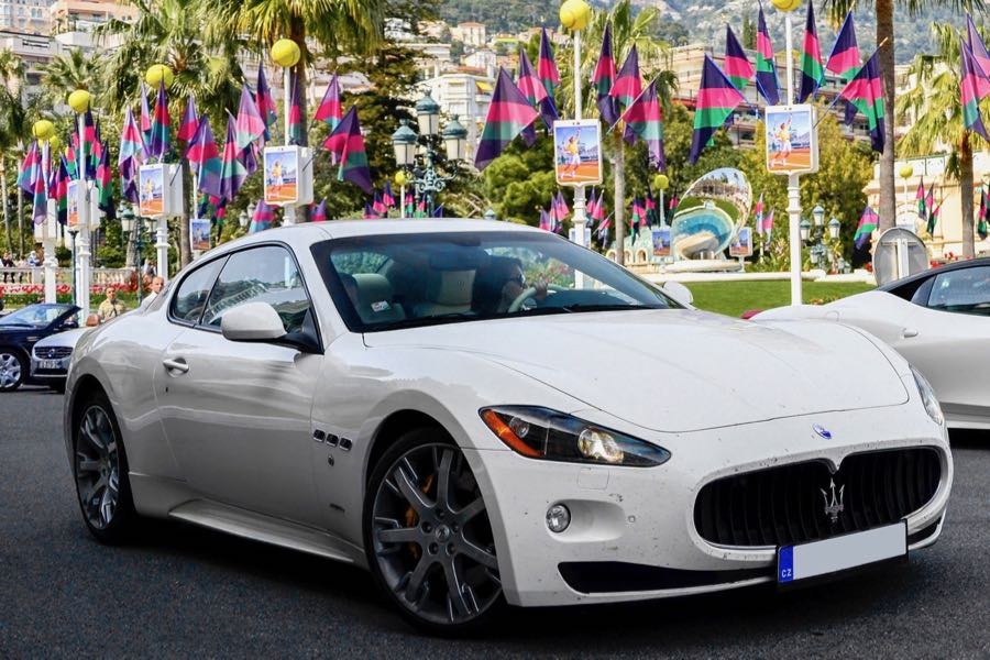 Cars for Greek Gods Maserati