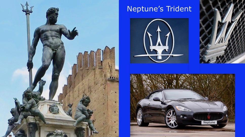 Maserati Neptune Trident Symbol