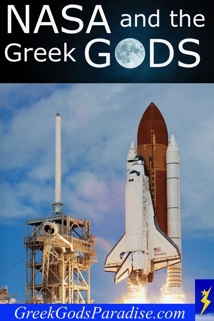 Nasa Shuttle and the Greek Gods