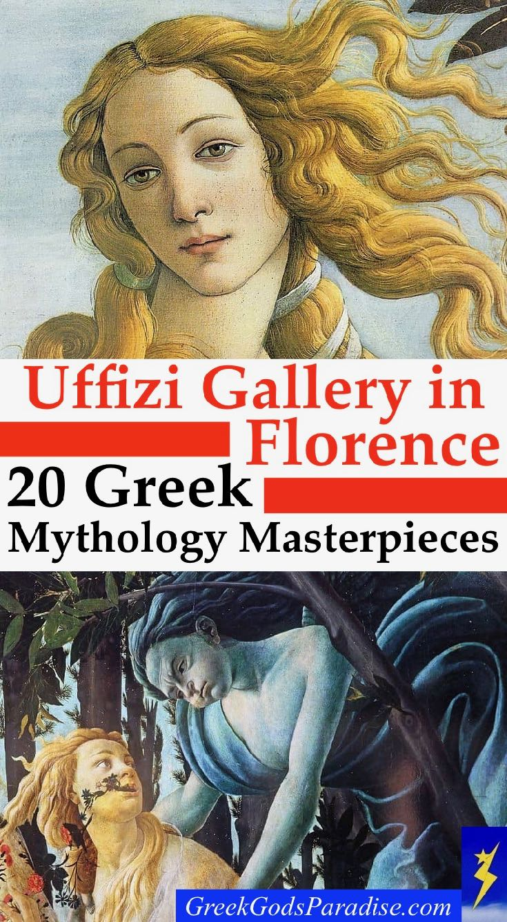 Uffizi Gallery Greek Mythology Masterpieces Paintings