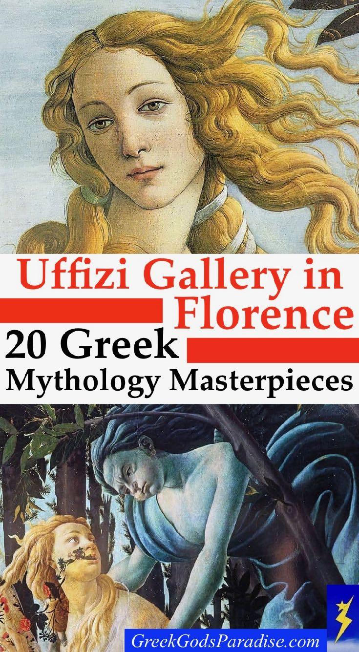 Uffizi Gallery Greek Mythology Masterpieces Paintings