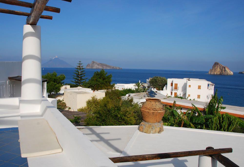 Aeolian Island Views to Stromboli