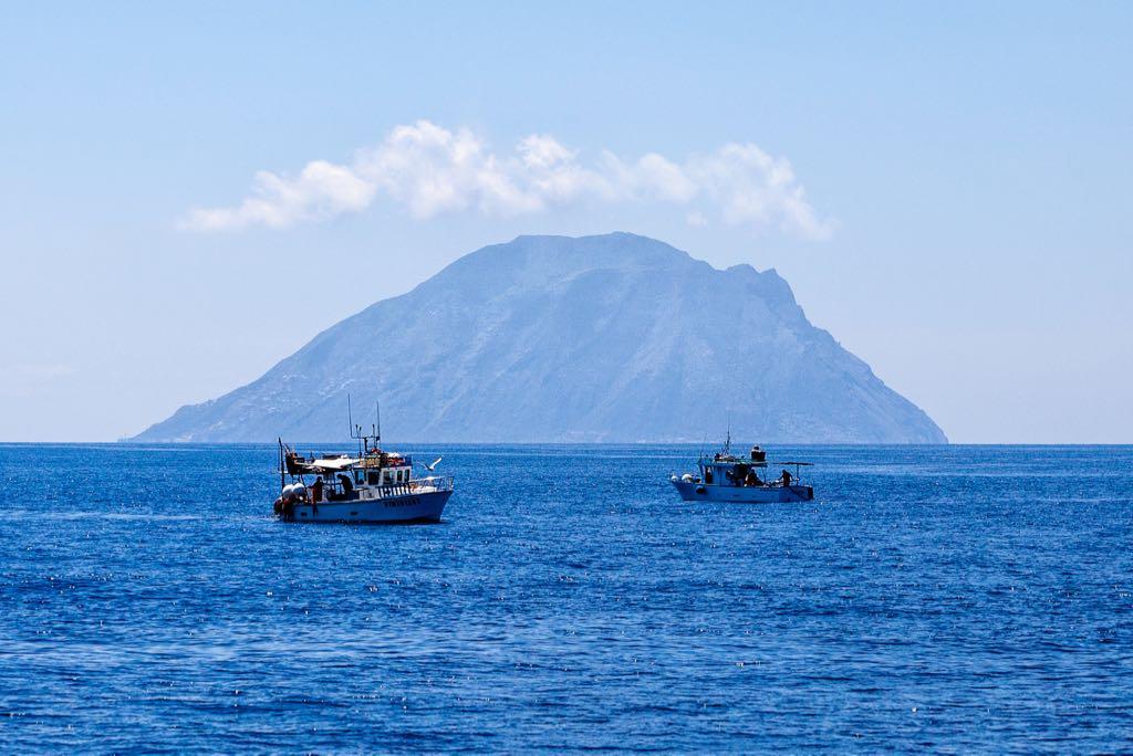 Alicudi Island in the Aeolian Archipelago