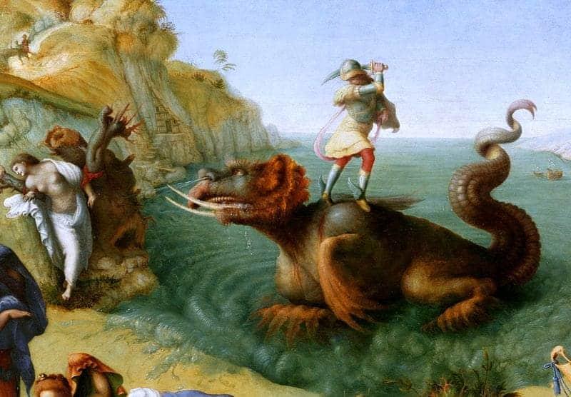 Andromeda rescuing Perseus Uffizi
