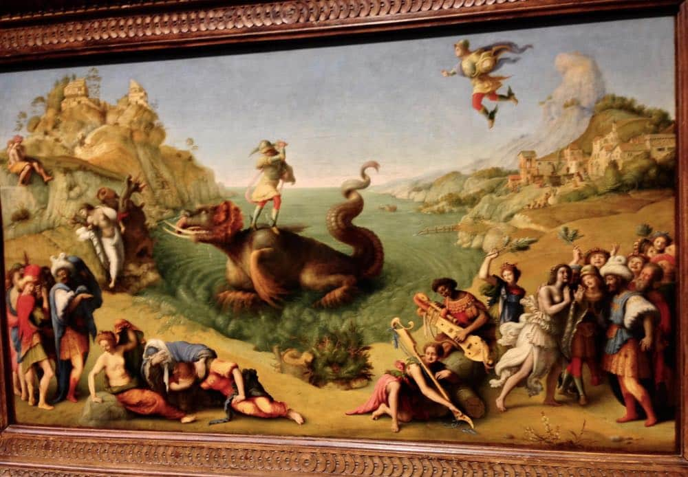 Best Paintings in Uffizi Gallery Perseus