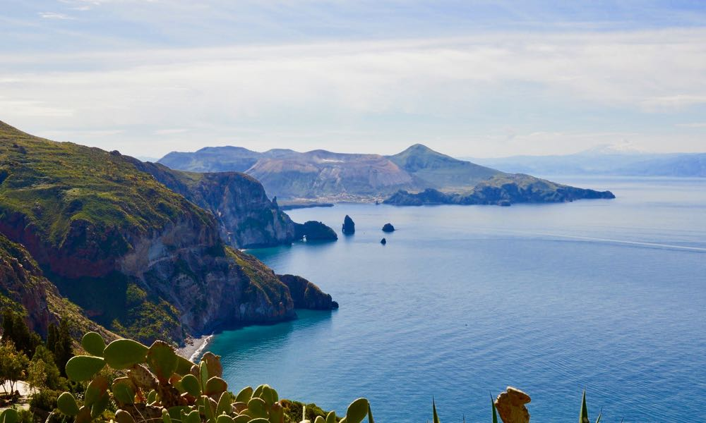 Lipari Beach Views Aeolian Island